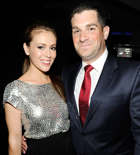 Alyssa Milano has confirmed the happy news via her blog. The 41 year